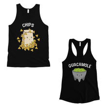 Load image into Gallery viewer, Chips & Guacamole Matching Couple Tank Tops Funny Wedding Gift