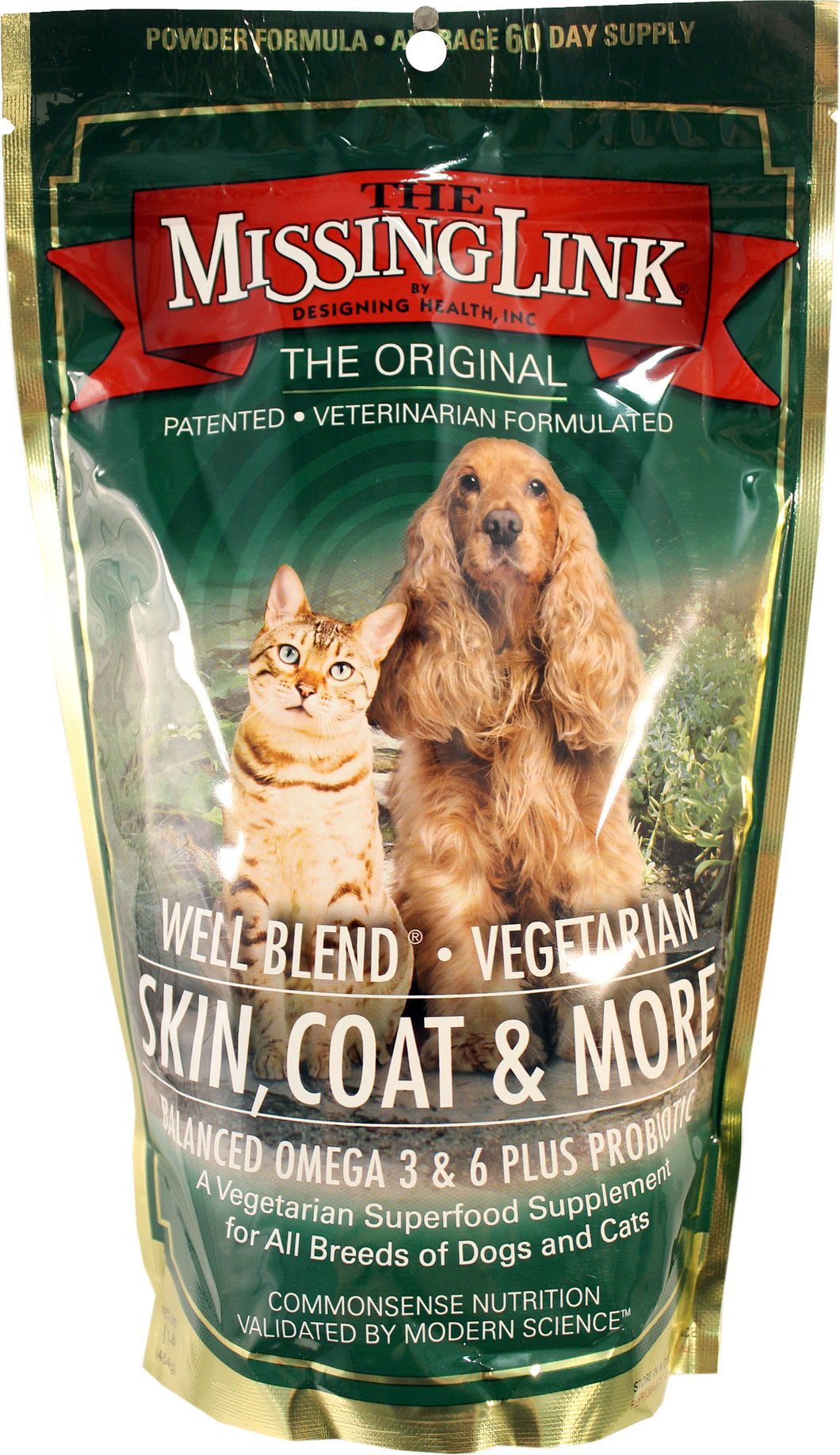W F Young Pet - Missing Link Vegetarian Skin & Coat For Dog & Cat