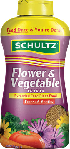 Schultz - Flower Vegetable Extended Feed Plant Food 13-13-13
