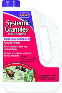 Bonide Products Inc     P - Systemic Granules Insect Control