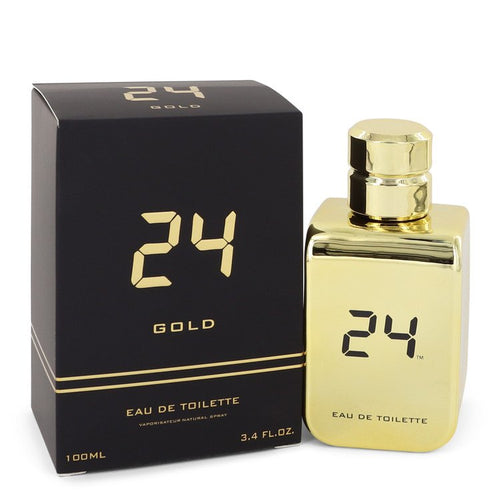 24 Gold The Fragrance by ScentStory Eau De Toilette Spray 3.4 oz for Men