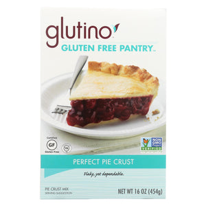 Glutino Perfect Pie Crust - Case Of 6 - 16 Oz.