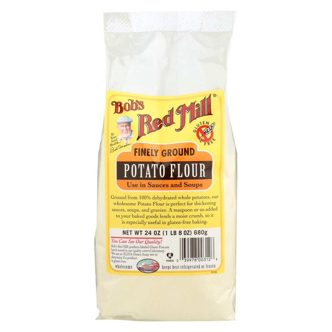 Bob's Red Mill - Potato Flour - 24 Oz - Case Of 4