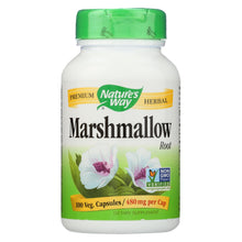 Load image into Gallery viewer, Nature's Way - Marshmallow Root - 100 Capsules