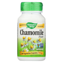 Load image into Gallery viewer, Nature's Way - Chamomile Flowers - 100 Capsules