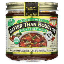 Load image into Gallery viewer, Better Than Bouillon Organic Seasoned - Vegetable Base - Case Of 6 - 8 Oz.