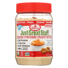 Load image into Gallery viewer, Just Great Stuff Powdered Peanut Butter - 6.43 Oz - Case Of 12