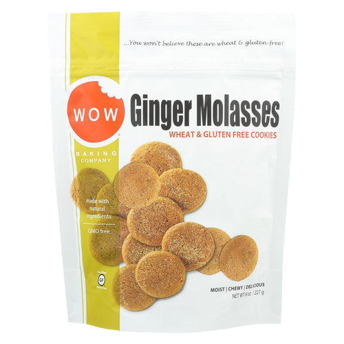 Wow Baking Ginger Molasses Cookie - Case Of 12 - 8 Oz.