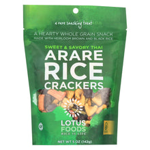 Load image into Gallery viewer, Lotus Foods Arare Rice Crackers - Sweet And Savory Thai - Case Of 8 - 5 Oz.