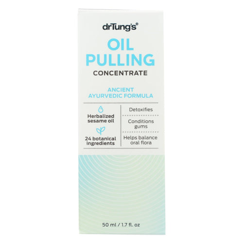 Dr. Tung's Oil Pulling - Ancient Ayurvedic Formula - Case Of 12 - 1.7 Oz.