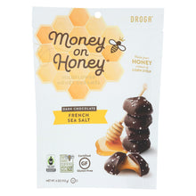Load image into Gallery viewer, Money On Honey Dark Chocolate - French Sea Salt - Case Of 6 - 4.8 Oz