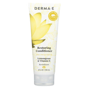 Derma E - Conditioner - Volume And Shine - Restoring - 8 Fl Oz.