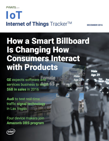 INTERNET OF THINGS TRACKER – DECEMBER 2016 EDITION*