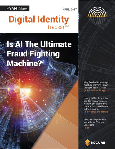 DIGITAL IDENTITY TRACKER – APRIL 2017 EDITION*