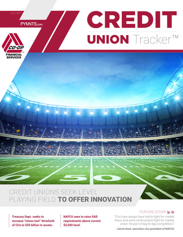 Credit Union Tracker - July 2017