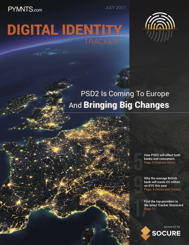 DIGITAL IDENTITY TRACKER – JULY 2017 EDITION*