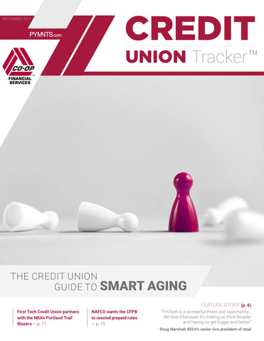 Credit Union Tracker - September 2017