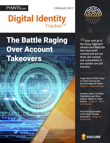 DIGITAL IDENTITY TRACKER – FEBRUARY 2017 EDITION*