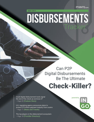 Disbursements Tracker - May 2017