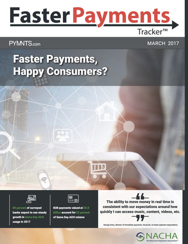 Faster Payments Tracker - March 2017