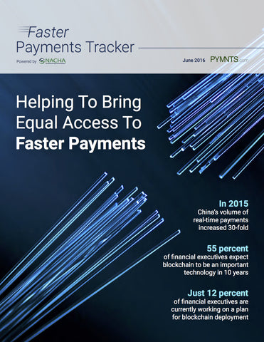 Faster Payments Tracker - July 2016