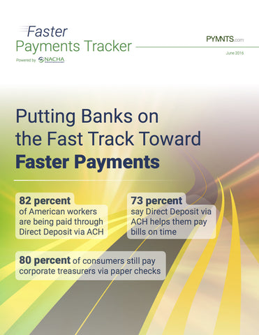 Faster Payments Tracker - June 2016