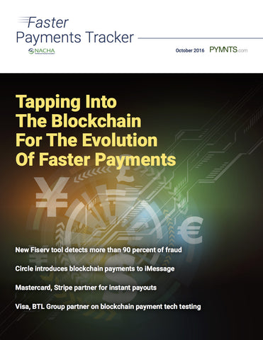 Faster Payments Tracker - October 2016