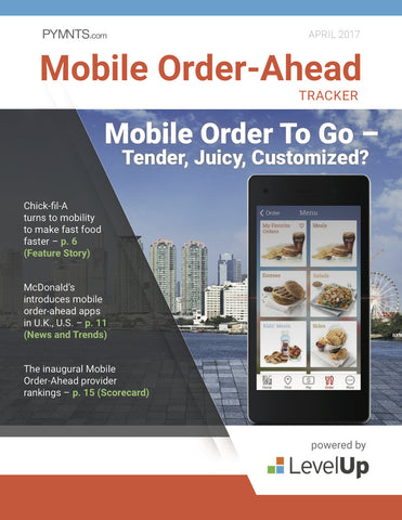 Mobile Order-Ahead Tracker - April 2017