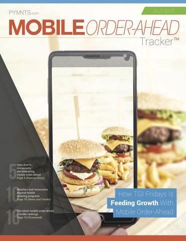 Mobile Order-Ahead Tracker - July 2017