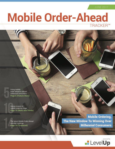 Mobile Order-Ahead Tracker - June 2017