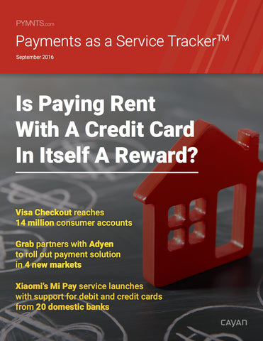 Payments as a Service Tracker - September 2016