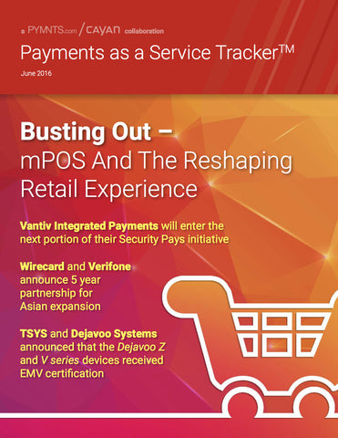 Payments as a Service Tracker - June 2016