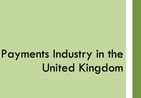 Payments Industry in the United Kingdom, November 2012 (Free)
