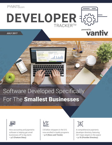 THE VANTIV DEVELOPER TRACKER (JULY 2017 EDITION)*