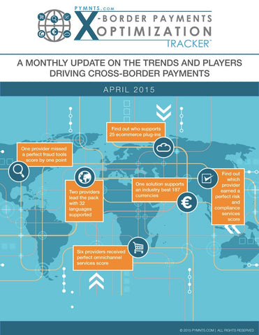 X-Border Payments Optimization Tracker™ - April 2015 Edition
