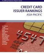 Credit Card Issuer Rankings: Asia-Pacific