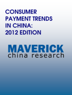 Consumer Payment Trends in China 2013 Q1