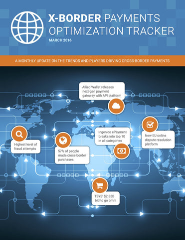 X-Border Payments Optimization Tracker - March 2016 Edition*
