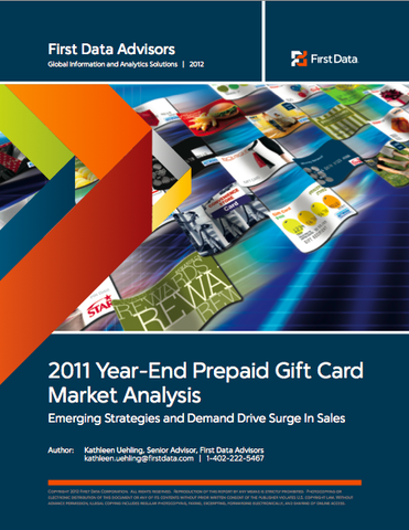 First Data 2011 Year-End Prepaid Gift Card Analysis