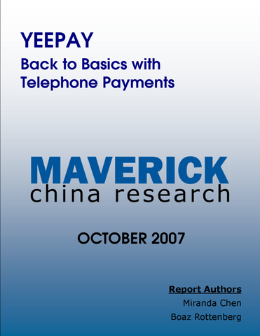 YeePay - Back to Basics with Telephone Payments