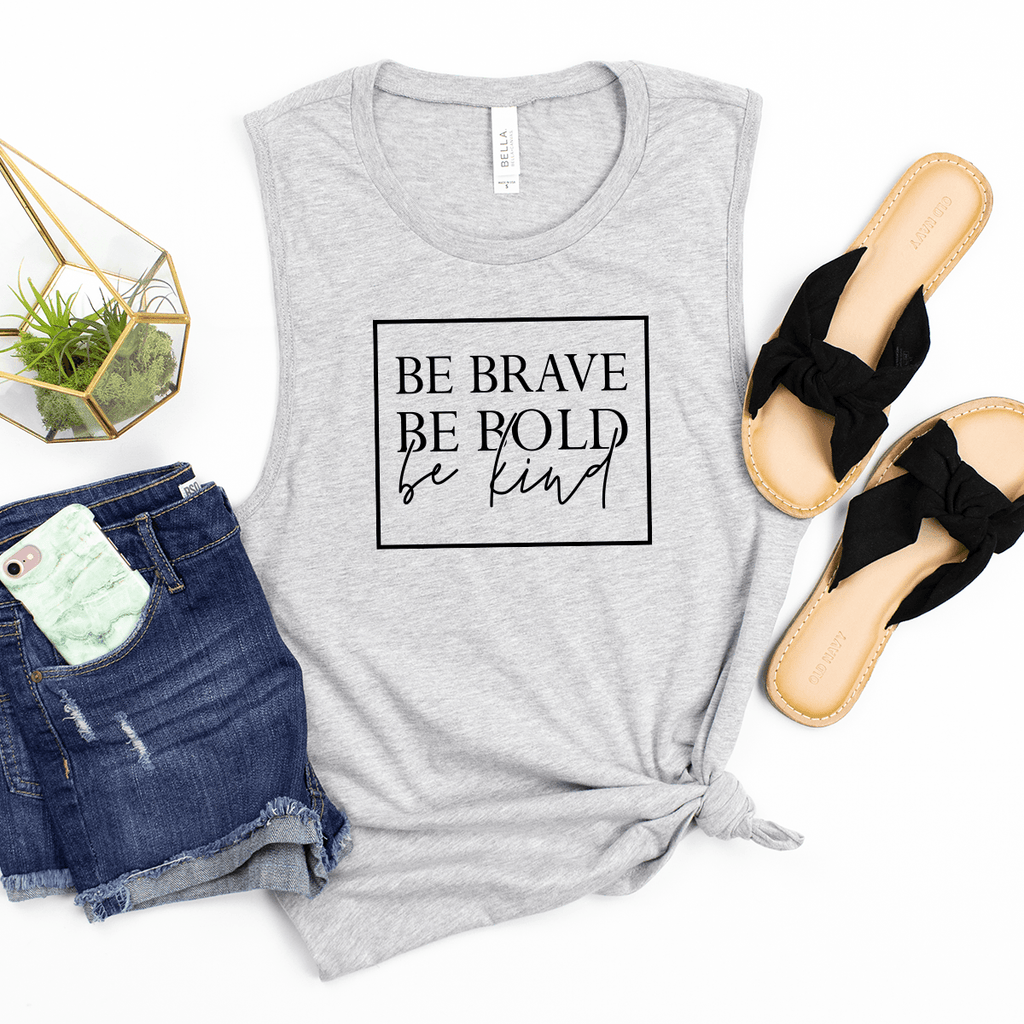 Brave, Bold, Kind - Bella+Canvas Tank Top