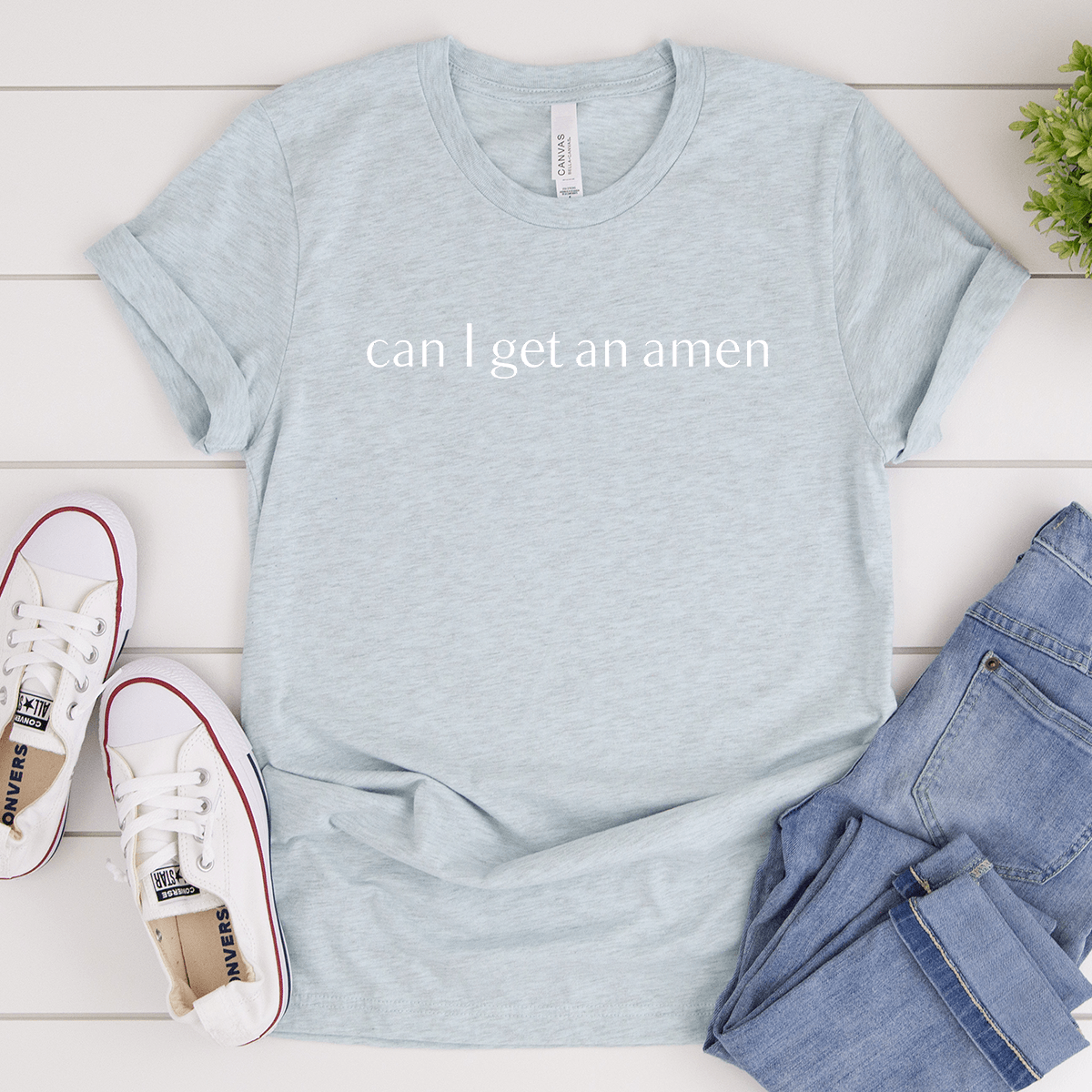 Can I Get an Amen - Bella+Canvas Tee