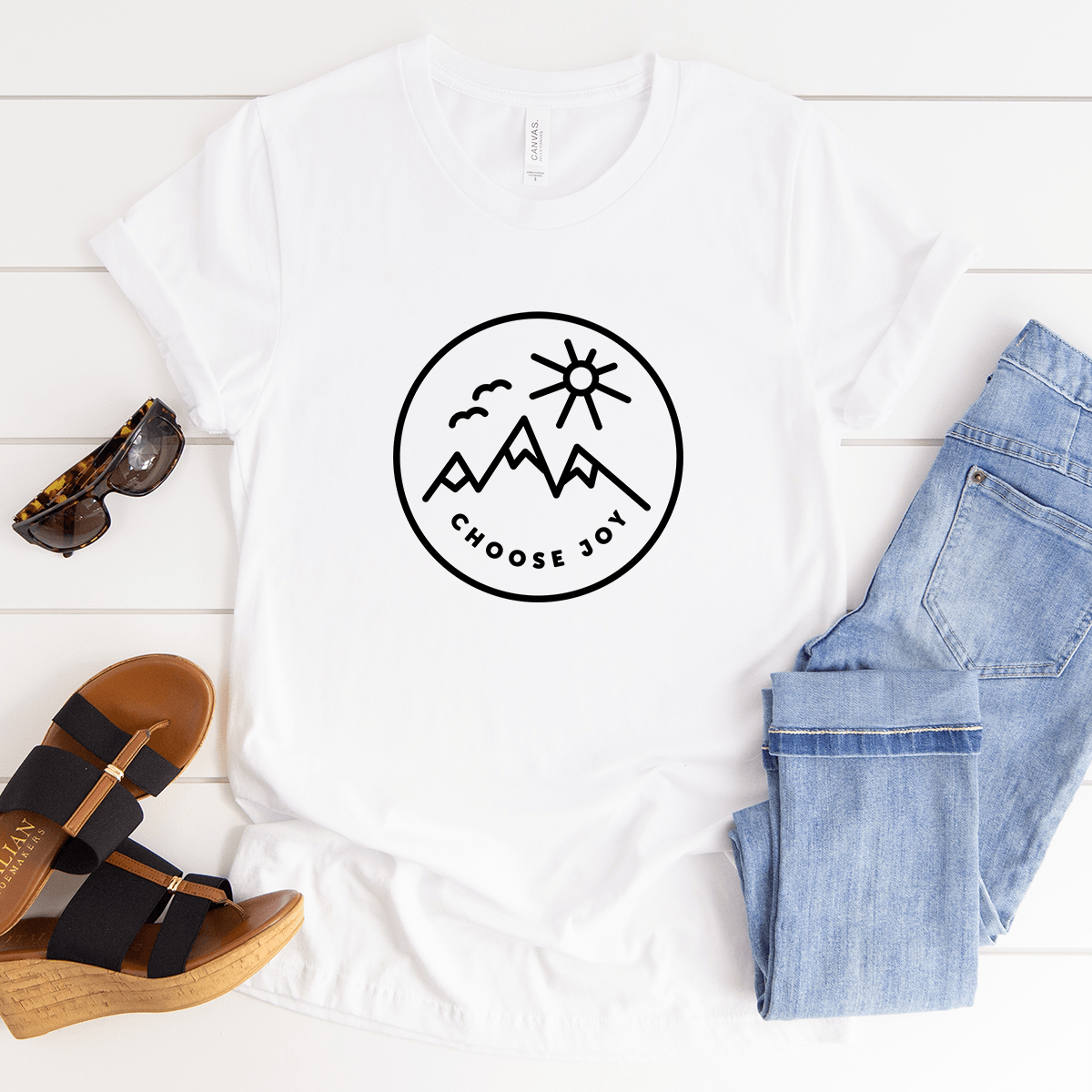 Choose Joy - Bella+Canvas Tee