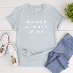 Grace Always Wins - Bella+Canvas Tee