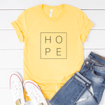 HOPE - Bella+Canvas Tee