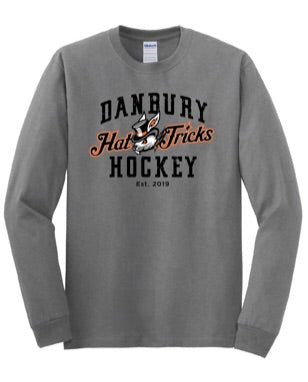 Danbury Hat Tricks Gray Long Sleeve T Shirt