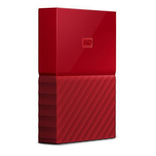 HD WD EXTERNO. 4TB RED 2.5' WDBYFT0040BRD-WESN MY PASSPORT WORLWIDE ROJO