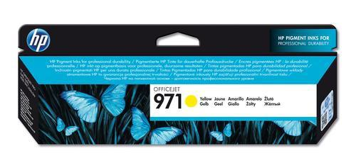 HP 971 Yellow Ink Cartridge CN624AE