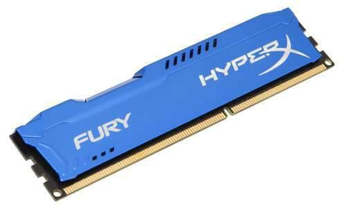 Kingston Technology HyperX FURY Blue 8GB 1333MHz DDR3
