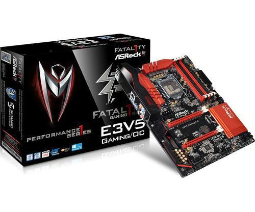 PLACA ASROCK E3V5 PERFORMANCE GAMING/OC